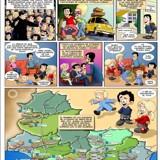 Cómic: 40 aniversario de los colegios de Attendis