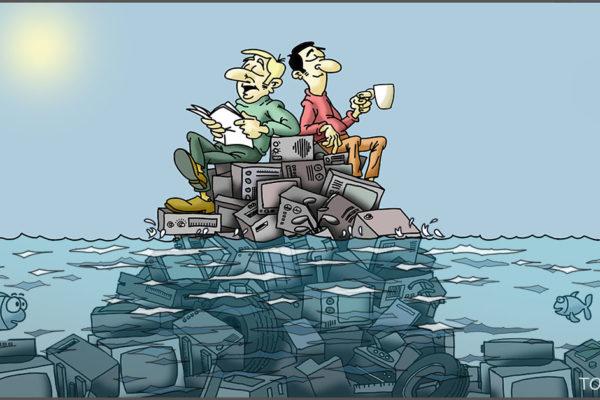 Vivir sobre la basura