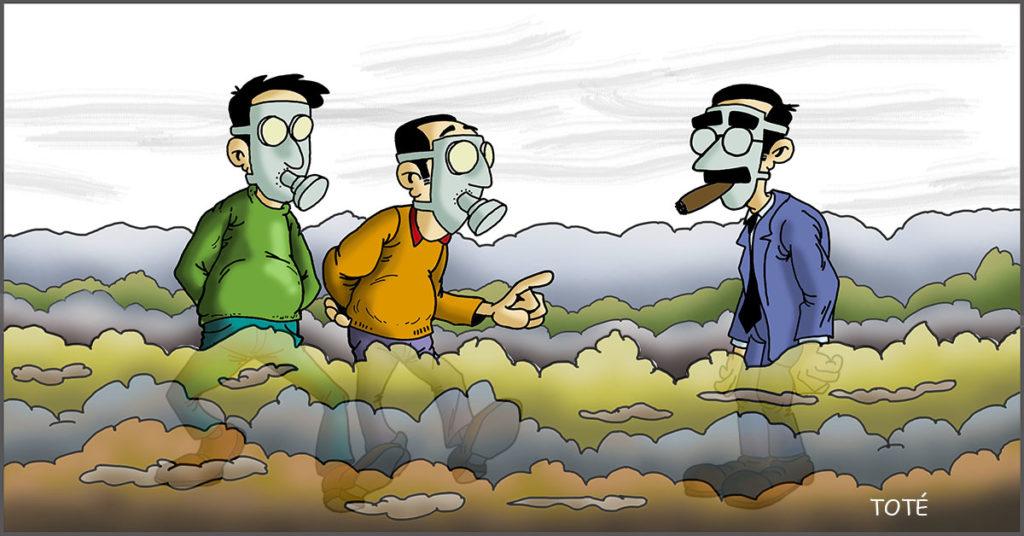 La calidad del aire que respiramos