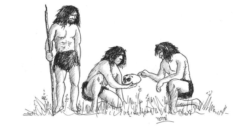 Visita a los yacimientos de Atapuerca, el homo Antecessor
