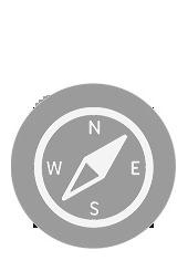 Icon brújula compass