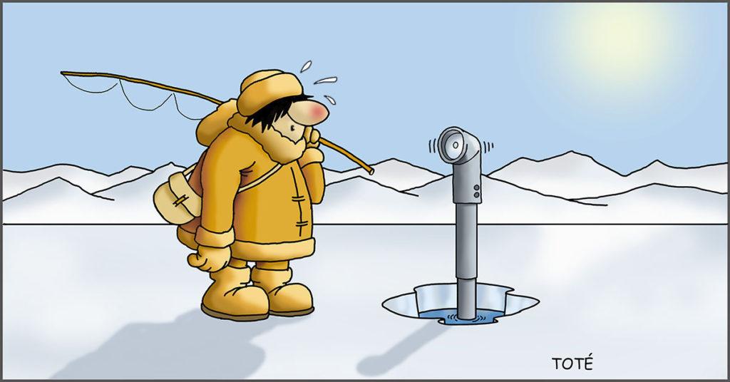 El cambio climático en el Ártico
