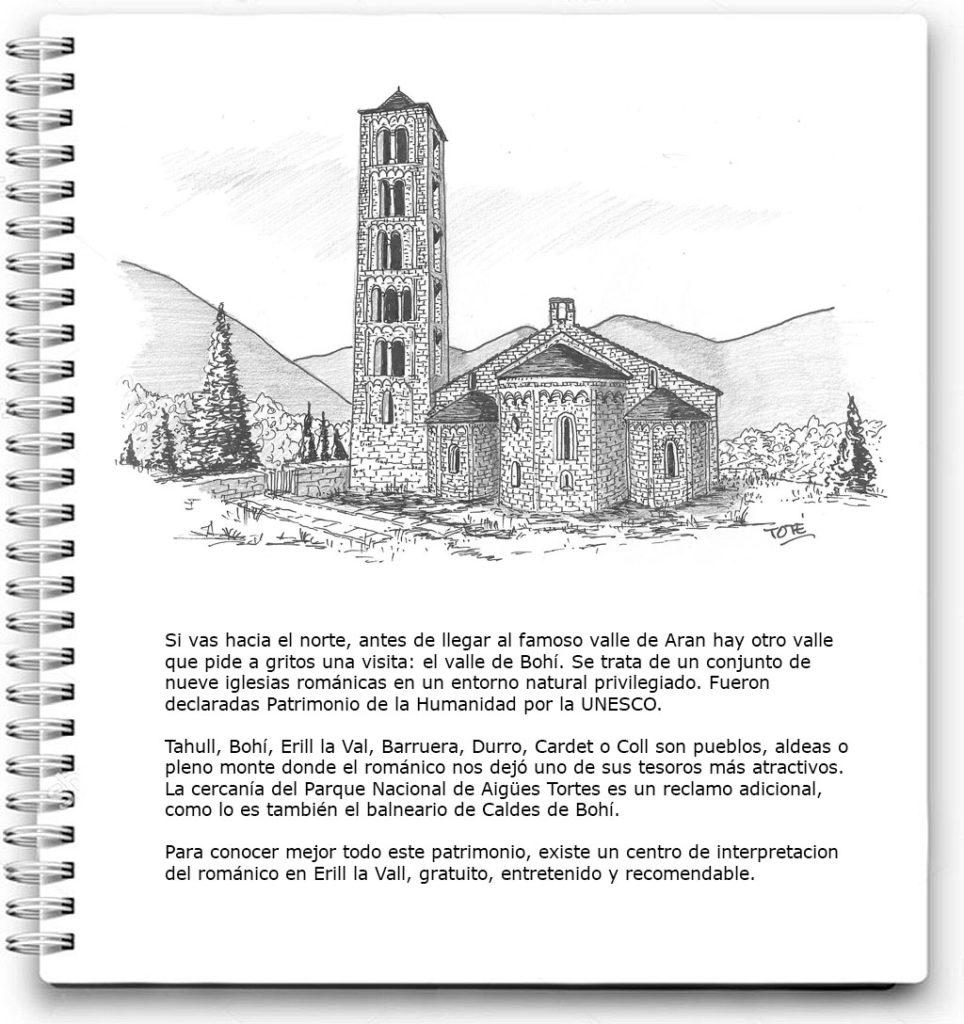 Mi cuaderno de viaje: Valle de Boí