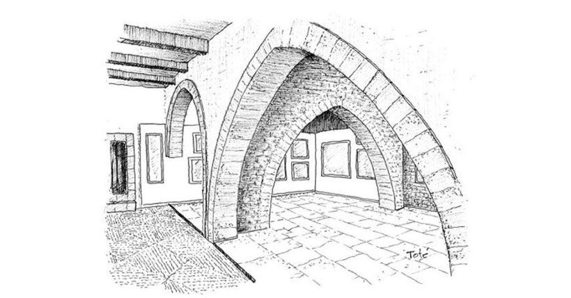 Castillo de Larrés - Museo de dibujo
