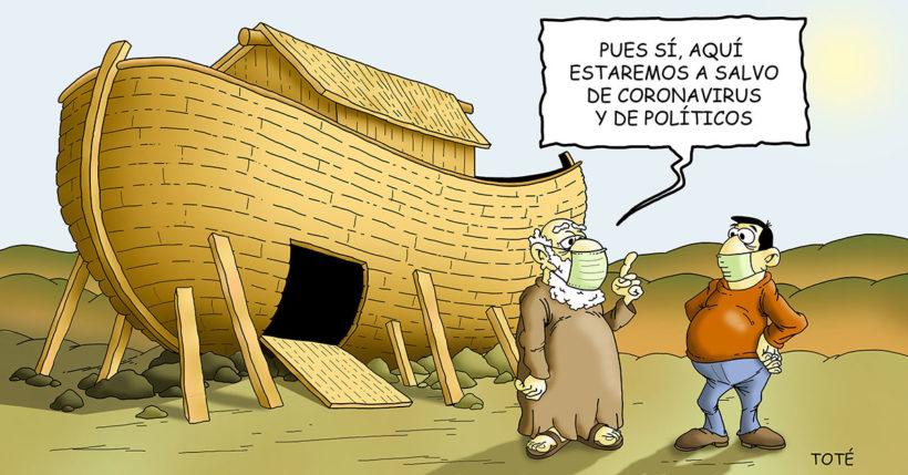 El arca de Noe y el COVID-19