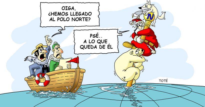 El Polo Norte en apuros