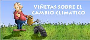 banner viñetas sobre el cambio climático
